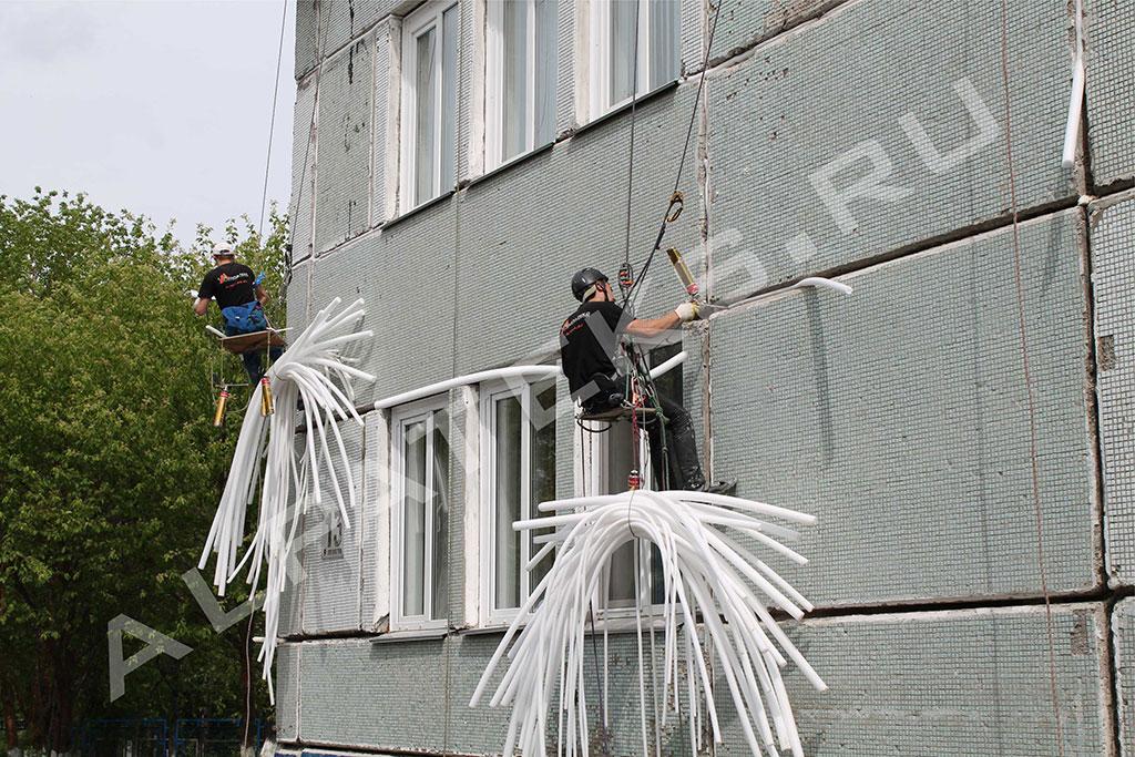 Что входит в ремонт фасада при капремонте многоквартирных домов